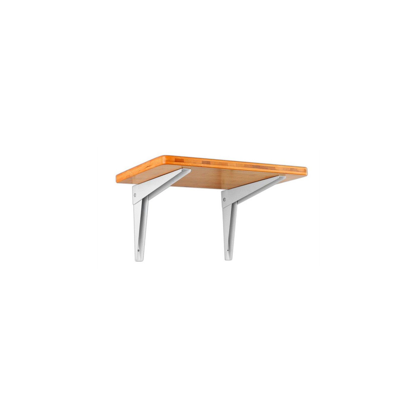 Set of 4 foldable shelf support brackets (size 2: 35 cm)