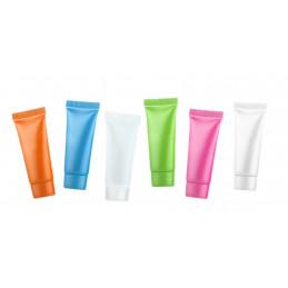 Set van 48 hervulbare, lege tubes (10 ml, gemixte kleuren)  - 1