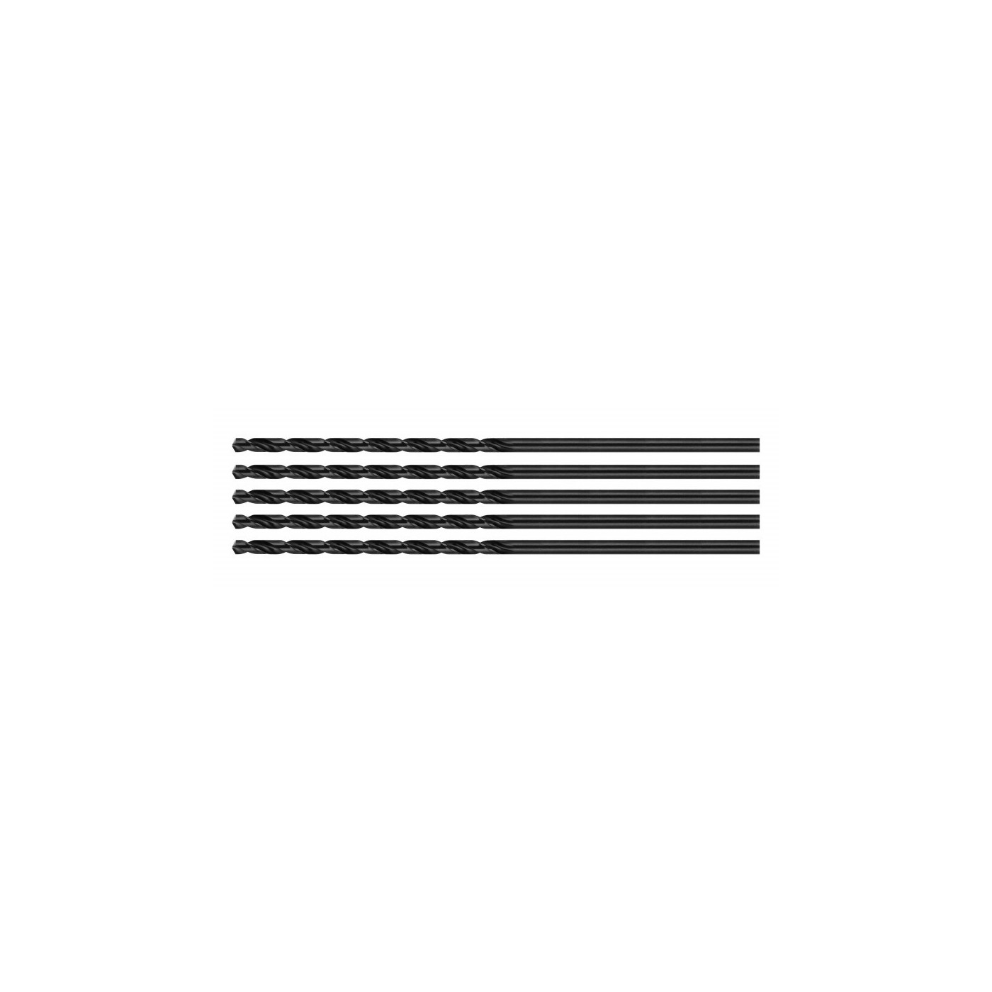 Set van 5 metaalboren (HSS, 4,7x85 mm)