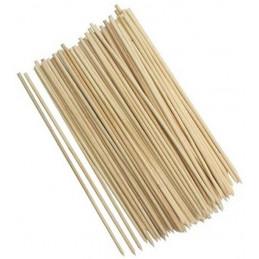 Conjunto de 600 espetos de madeira, 25 cm  - 1