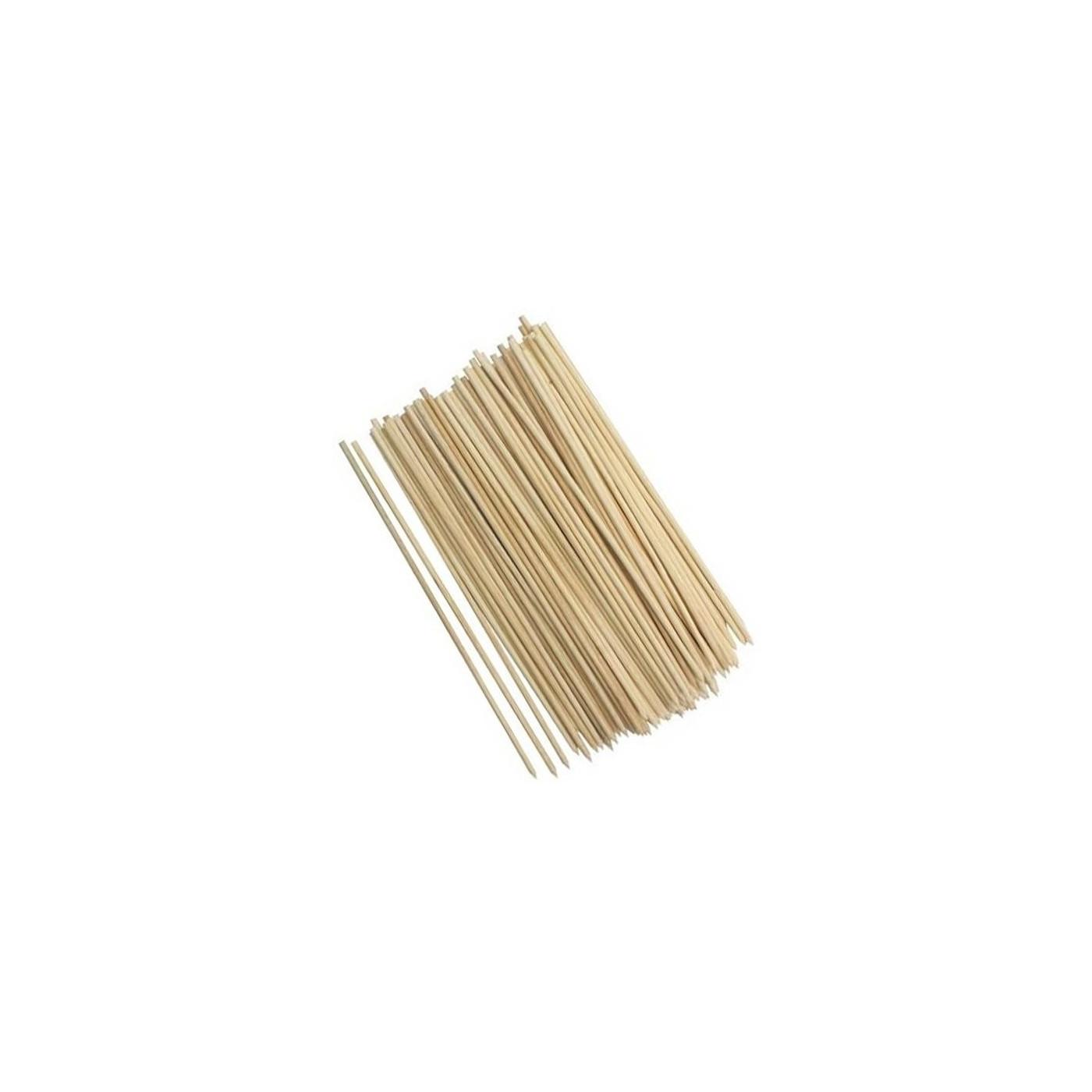 Set of 600 wooden skewers, 25 cm