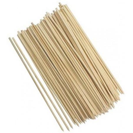 Lot de 600 brochettes en bois, 25 cm
