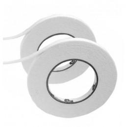 Zestaw 27,5 metra uszczelniającej taśmy piankowej (samoprzylepna, biała, 9 mm)  - 1