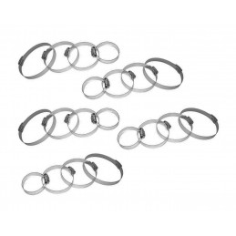 Lot de 20 colliers de serrage XXL