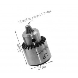 Mini uchwyt wiertarski 0,3 - 4,0 mm  - 2