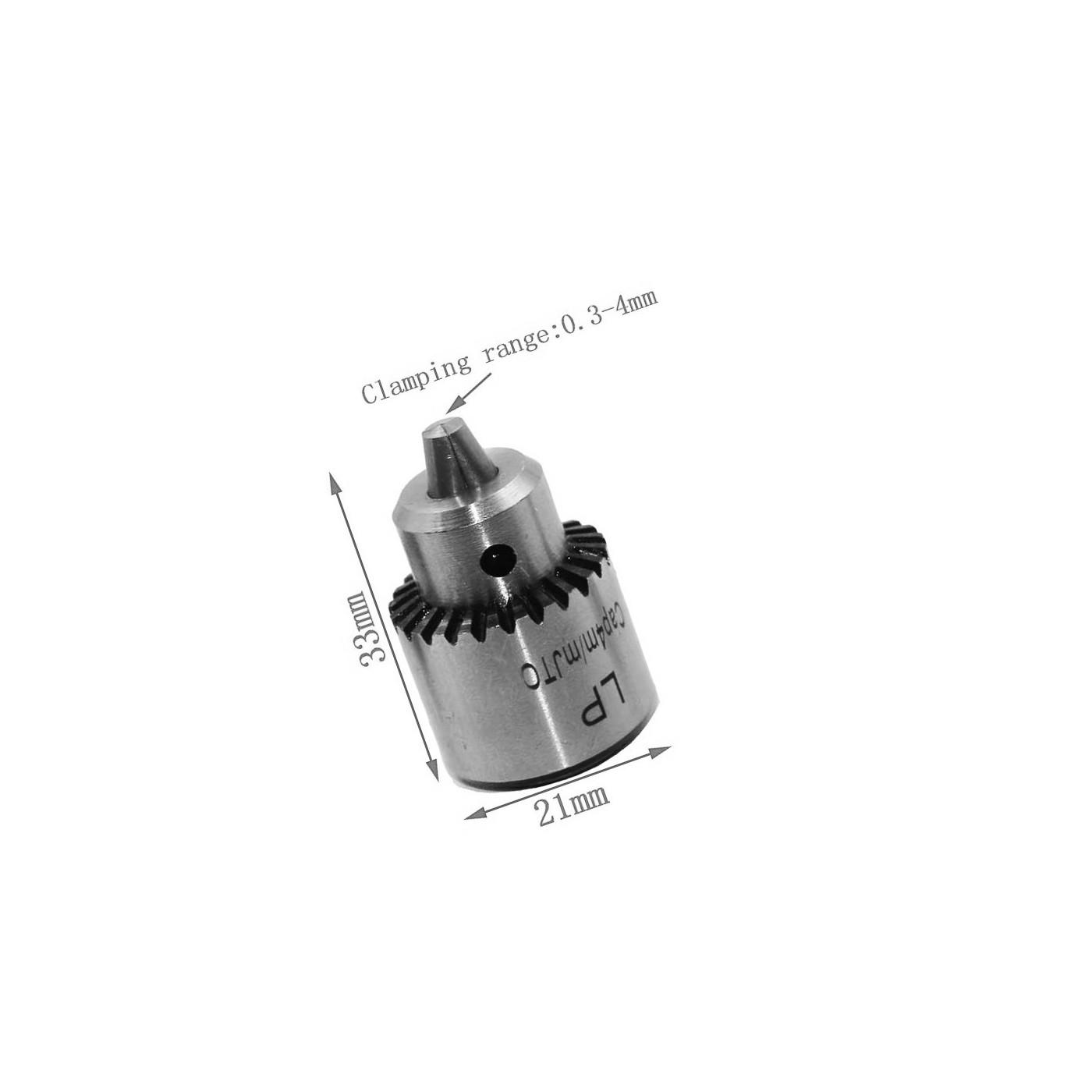 Mini drill chuck 0.3 - 4.0 mm