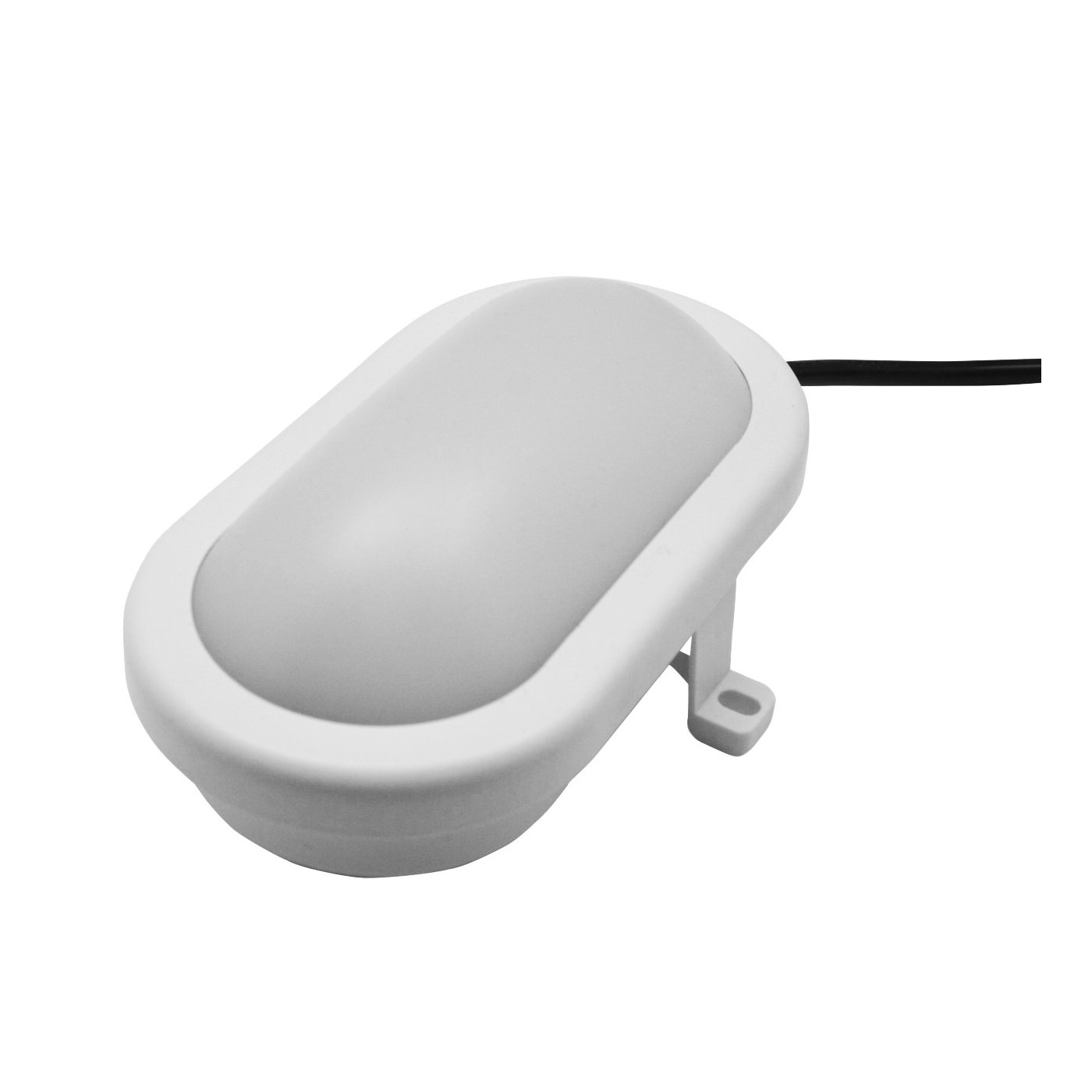Bullseye outdoor lamp (220v, splash-proof, white)  - 1
