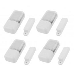 Zestaw 4 lampek do szafek z czujnikiem magnetycznym (automatyczny, LED, na baterie)  - 1