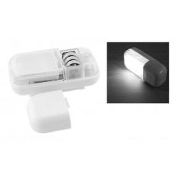 Set of 4 cabinet lights with magnet (automatic, LED, battery operated)  - 2