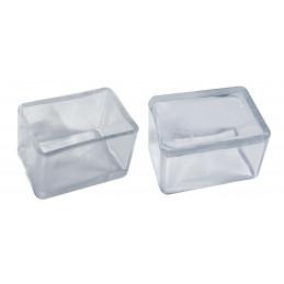 Set von 32 silikonkappen (Außenkappe, Rechteck, 25x50 mm