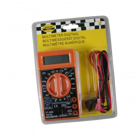 Multimètre numérique LCD (orange)