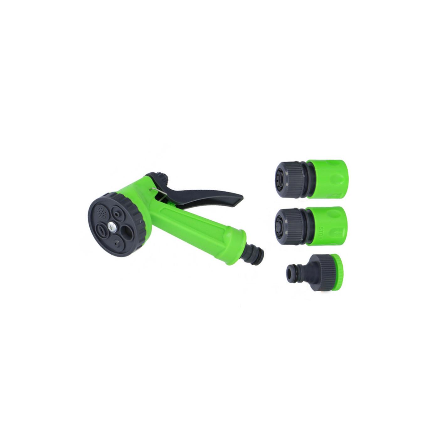 Tête de pulvérisation avec connecteurs pour tuyau d'arrosage (4