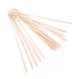 Set van 500 houten spiesjes 4,0 mm x 30 cm, berkenhout