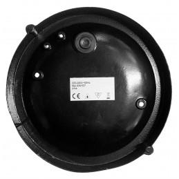 Set van 4 industriele buitenlampen (zwart, E27, spatwaterdicht