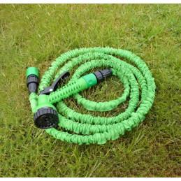 Garden hose with spray gun (expendable, 7.5-22.5 meters)
