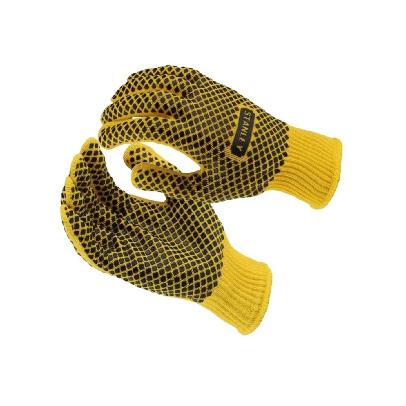 Set of Stanley work gloves (yellow / black)