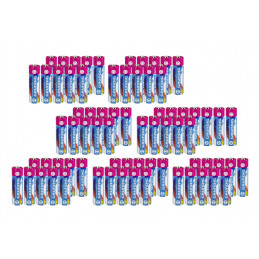 Set von 72 AA-Batterien (Grundig, 2100 mAh, Penlites)