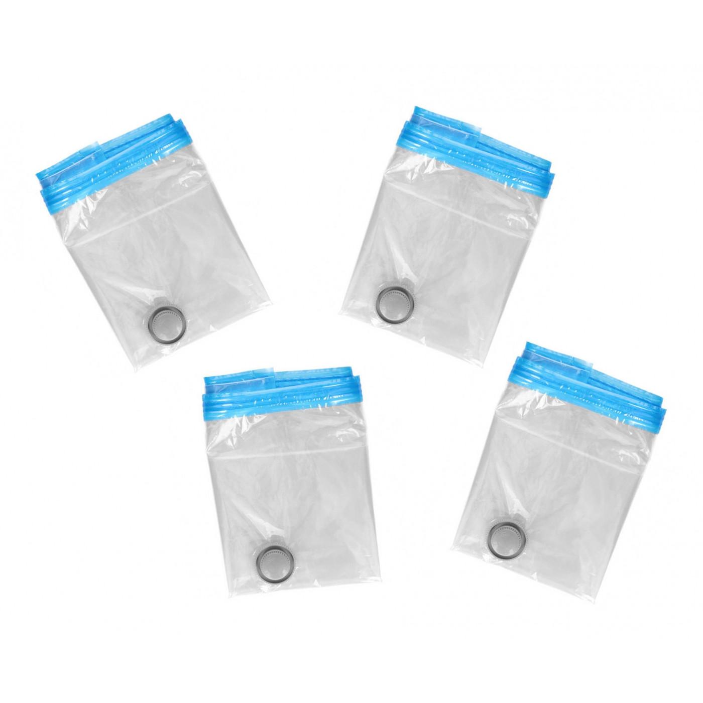 Lot de 4 sacs sous vide (45x60 cm)