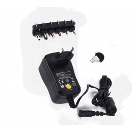 Universal adapter from 230V (AC) to 3.0-12V (DC)  - 1