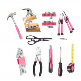 Schönes Geschenk für Frauen: Werkzeugset rosa