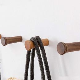 Set of 6 coat hooks (beech wood)