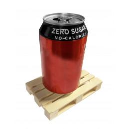 Set van 8 houten minipallets (onderzetters, 12x8x2 cm)