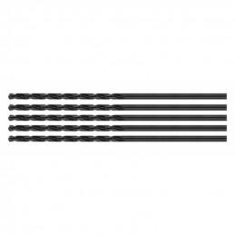 Set of 5 metal drill bits (HSS, 3.0x160 mm)  - 1